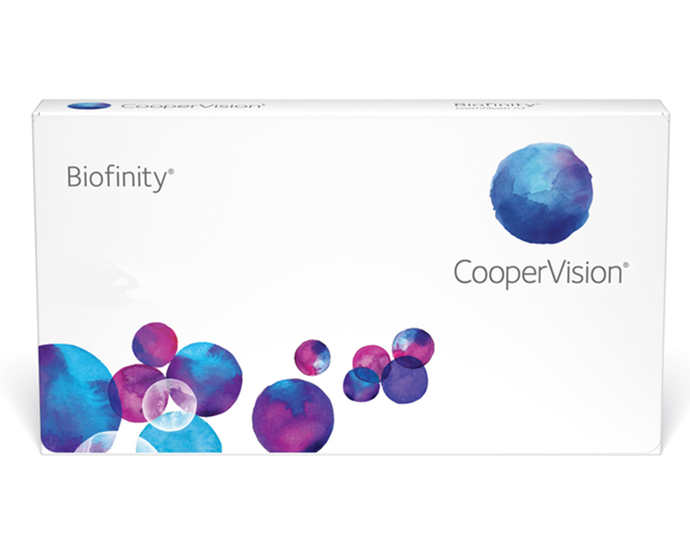 CooperVision Biofinity Contact Lenses